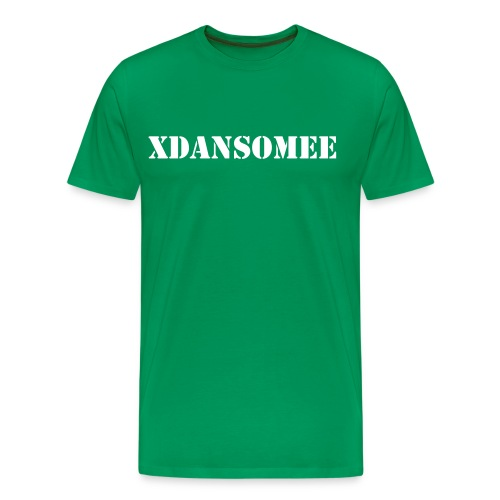 Custom Tee's - YOUR NAME & YOUR COLOUR! (Name on front). - Men's Premium T-Shirt