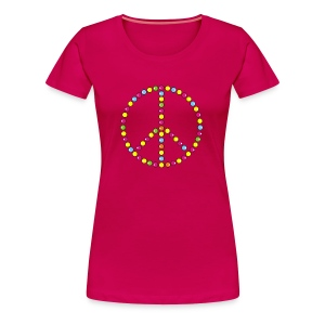 Shirt Peace - Frauen Premium T-Shirt