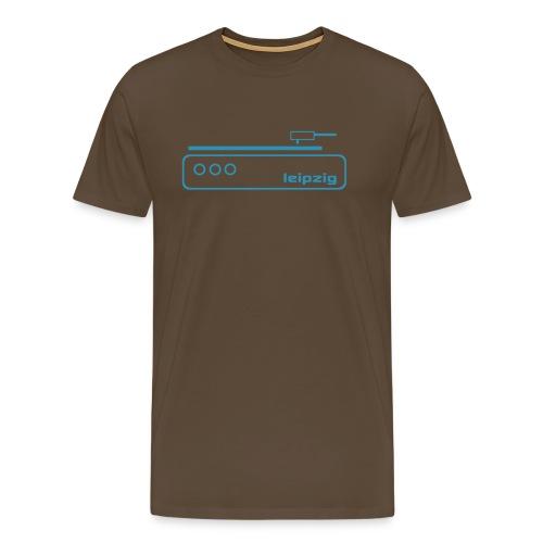 Leipzig Music T-Shirt  - Männer Premium T-Shirt