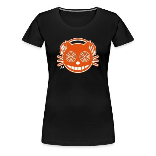 t-shirt femme imprimé chat - T-shirt Premium Femme