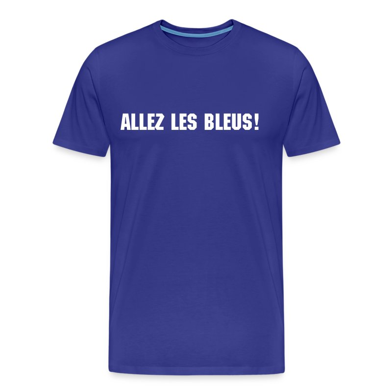 Blue France Tee - Men's Premium T-Shirt