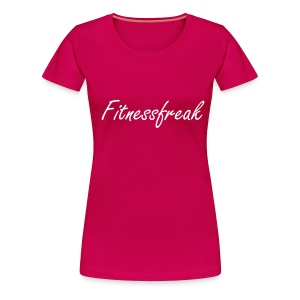 Fitnessfreak W - Frauen Premium T-Shirt