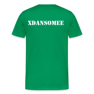 Custom Tee's - YOUR NAME & YOUR COLOUR! (Name on back). - Men's Premium T-Shirt