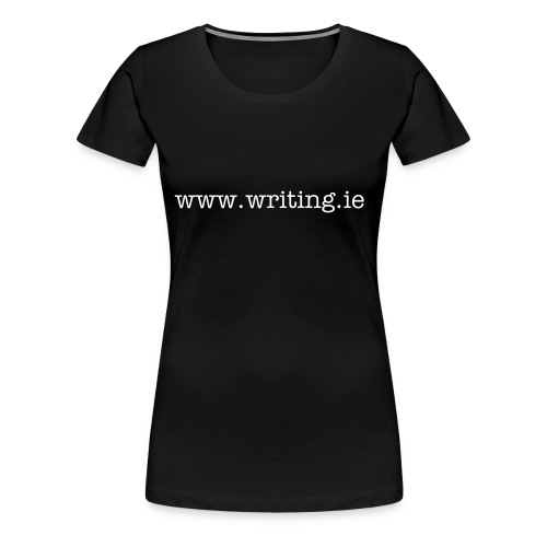 writing.ie ladies slim fit - Women's Premium T-Shirt