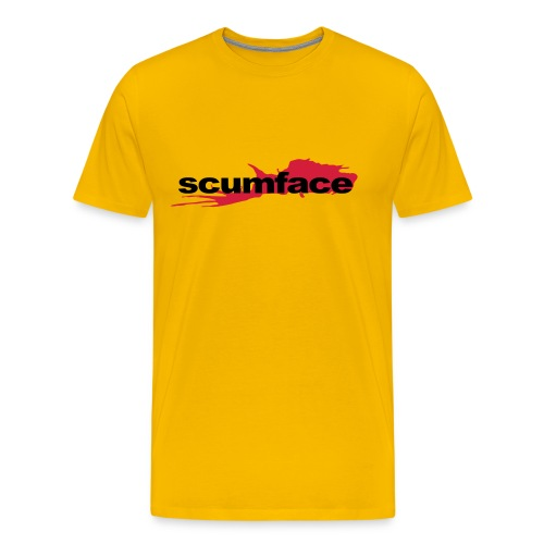 Scumface Reservoir Dogs Logo T-shirt (Yellow) - Men's Premium T-Shirt