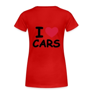 I love my cars beziers - T-shirt Premium Femme