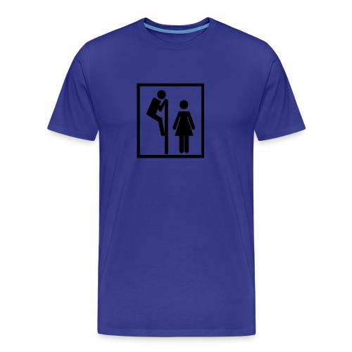 Toaletthumor - Premium T-skjorte for menn