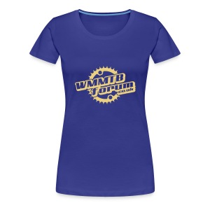 Womens WMMTB Forum 'Logo' tee (cream print) - Women's Premium T-Shirt