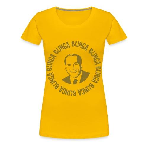Bunga Bunga Edizione Oro Donna - Frauen Premium T-Shirt