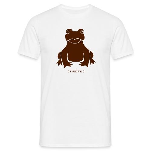 Herren Shirt Frosch Kröte braun Tiershirt Shirt Tiermotiv - Männer T-Shirt