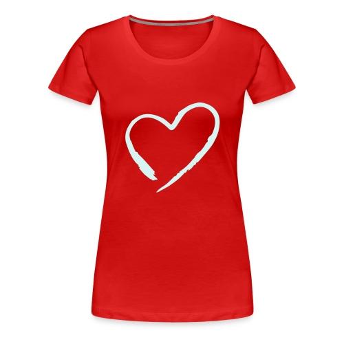 Girlie Heart - Frauen Premium T-Shirt