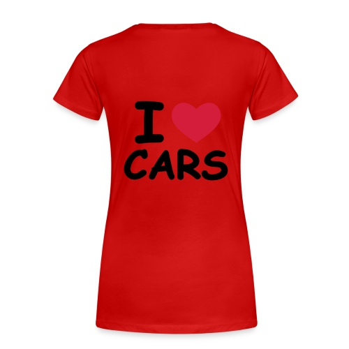 I love my cars marseille - T-shirt Premium Femme
