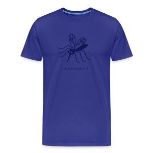 Herren Shirt Mücke Moskito Blutsauger dunkelblau Tiershirt Shirt Tiermotiv - Männer Premium T-Shirt