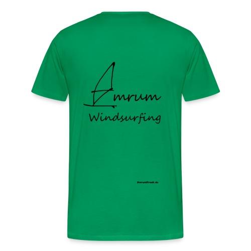 Amrum Windsurfing (Beidseitig) - Männer Premium T-Shirt