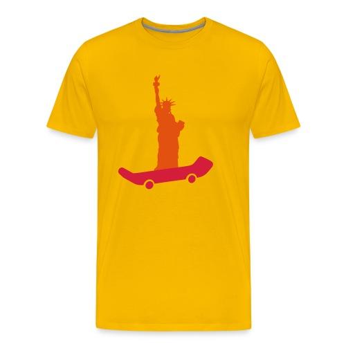 logo liberty skateshop - T-shirt Premium Homme