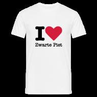 T-shirts ~ Mannen T-shirt ~ I Love Zwarte Piet
