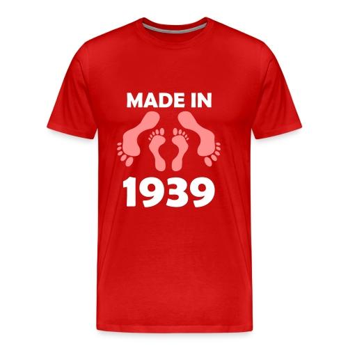 Made in 1939 - Men's Premium T-Shirt