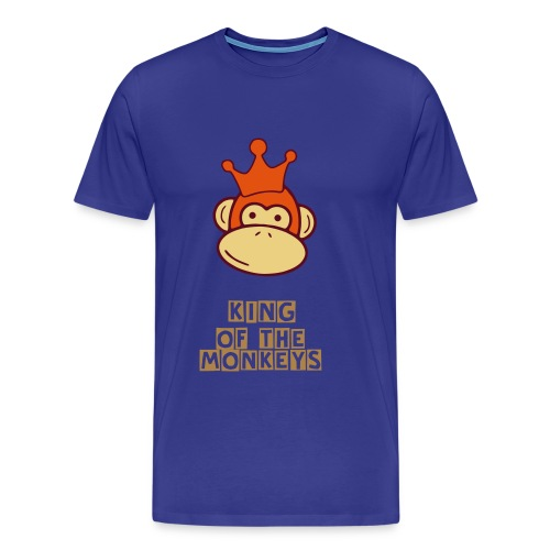 King of the Monkeys - Men's Premium T-Shirt