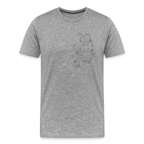 4 APOCALIPSIS / Camiseta - Camiseta premium hombre