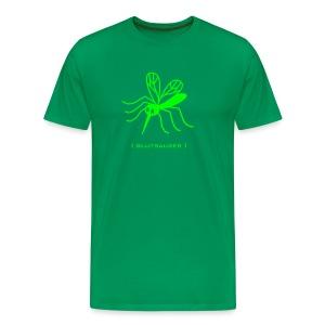 Herren Shirt Mücke Moskito Blutsauger grün Tiershirt Shirt Tiermotiv - Männer Premium T-Shirt