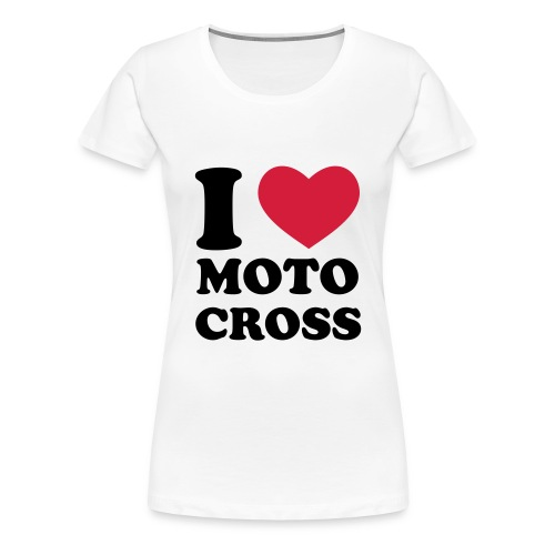 womens motocross t-shirt - Women's Premium T-Shirt