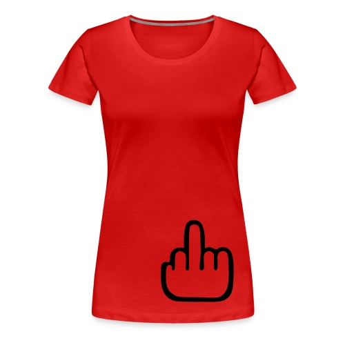 Fuck you - Premium-T-shirt dam