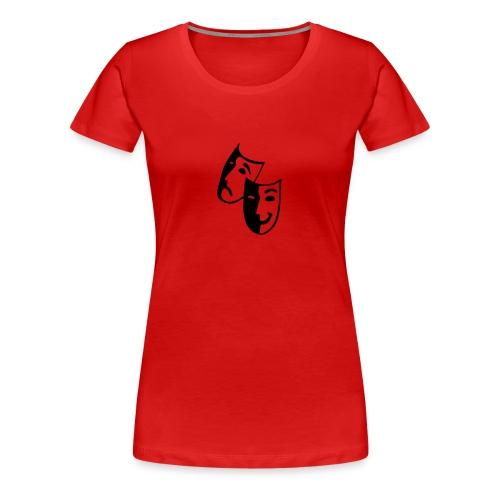 tees test 1 - Vrouwen Premium T-shirt
