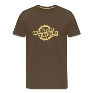 WMMTB Forum 'Logo' tee (cream print) - Men's Premium T-Shirt