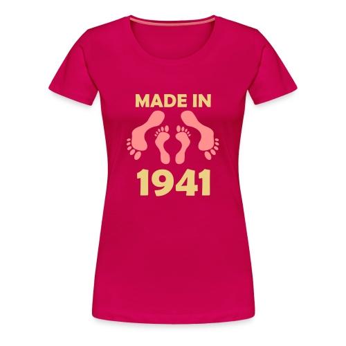 Made in 1941 - Women's Premium T-Shirt