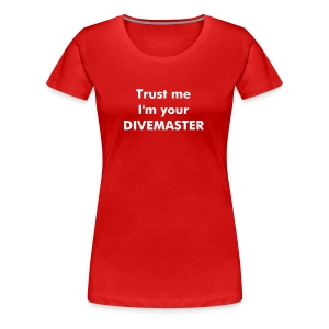 Divemaster Basic Girl - Women's Premium T-Shirt