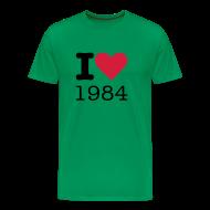 T-shirts ~ Mannen Premium T-shirt ~ I Love 1984