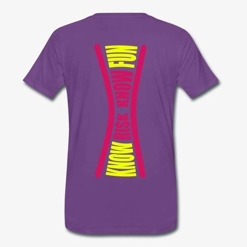 know risk - know fun - indigo (men) - Männer Premium T-Shirt