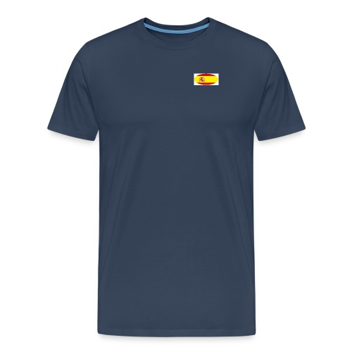 Men's large T-Shirt with Spain flag Logo - Men's Premium T-Shirt