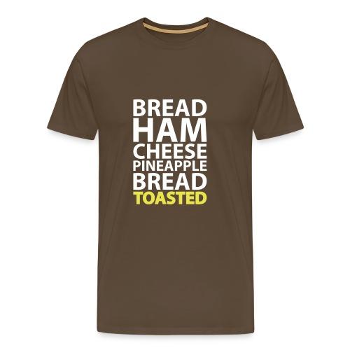 Tosti Hawaii! - Men's Premium T-Shirt
