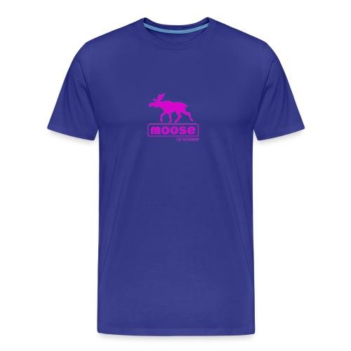 Moose of Norway - Premium T-skjorte for menn