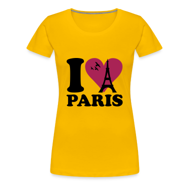 Light pink I love Paris - France Women's T-Shirts