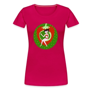 Strawberry Girl  - Frauen Premium T-Shirt