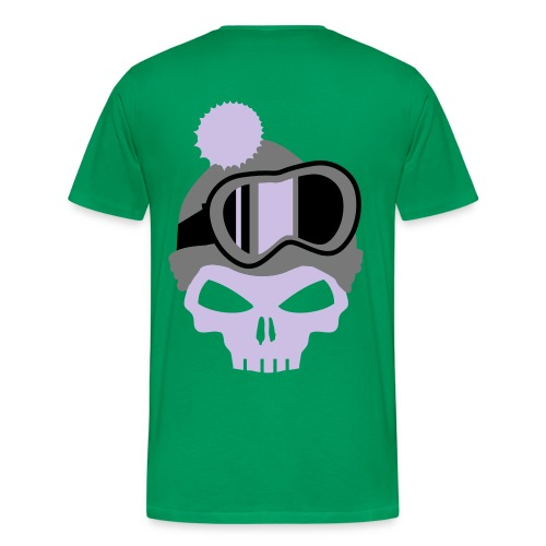 Mens SnowSkull-Tee - Men's Premium T-Shirt