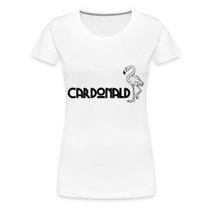Cardonald Flamingo - Women's Premium T-Shirt