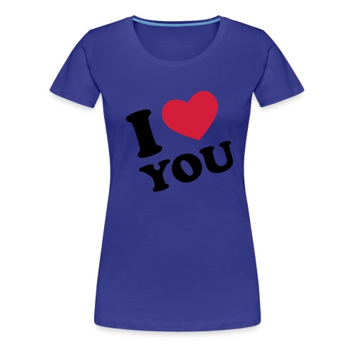 I <3 you... forever and ever - Women's Premium T-Shirt