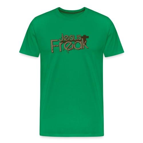 Bist du ein JESUS FREAK? Mens tee - Männer Premium T-Shirt