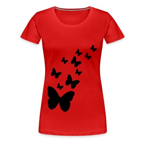 flutterby - Women's Premium T-Shirt