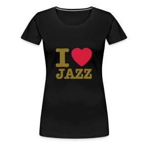 I luv Jazz - Vrouwen Premium T-shirt