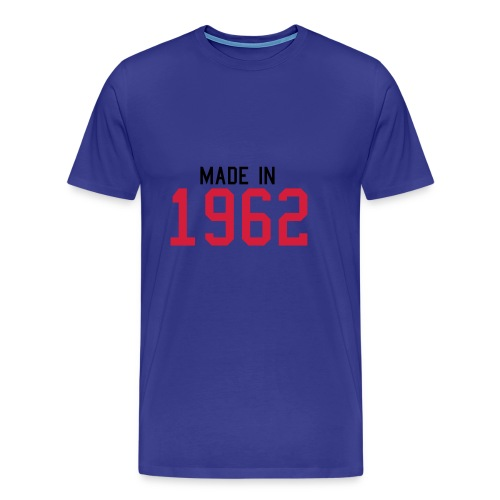 1962 blue - Men's Premium T-Shirt