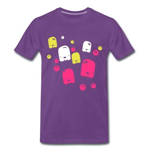Bubble monstars  - Mannen Premium T-shirt