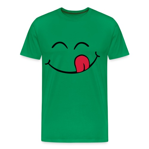 Smile Tongue - Men's Premium T-Shirt