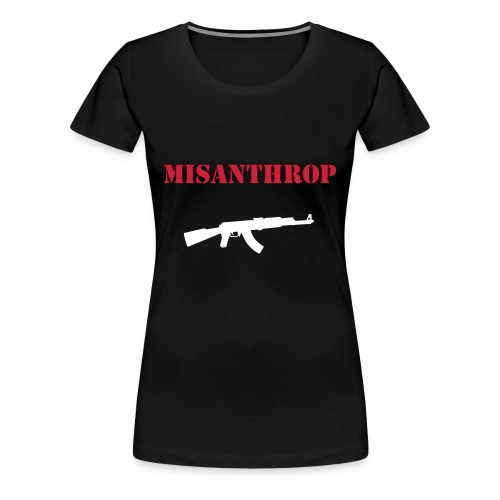 T-Shirt Misanthrop AK-47 Girls 1 - Frauen Premium T-Shirt