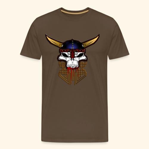 Viking Skull - T-shirt Premium Homme