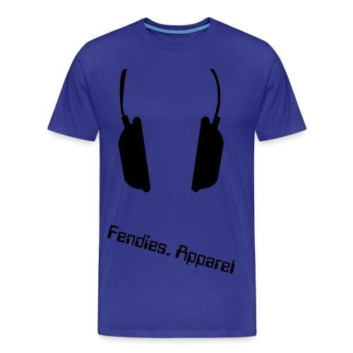 Fendies. Apparel Big Headphones - Men's Premium T-Shirt