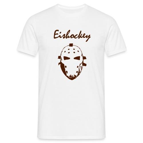 Shirt - Goaliemaske - Männer T-Shirt